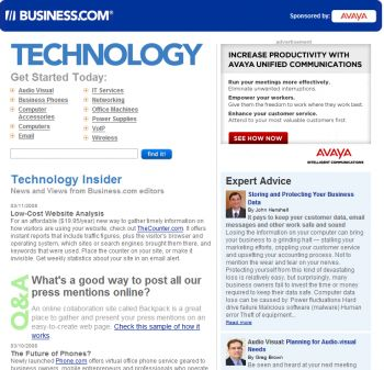 Business.com Technology Channel