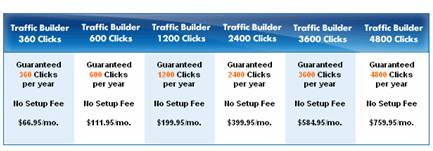EarthLink Traffic Builder