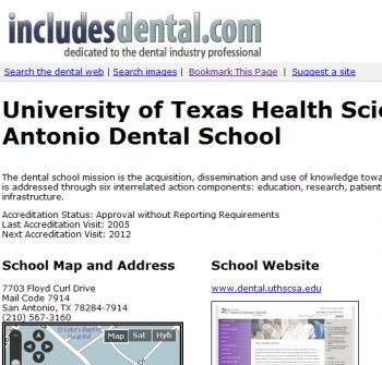 includesdental-dental-schoolprofile