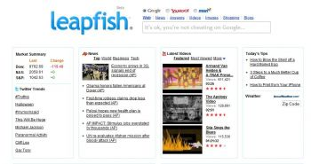 leapfish homepage