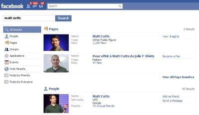 facebook-matt-cutts-search-results