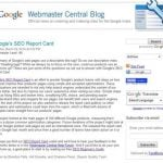 Google Issues Search Engine Optimization Report Card