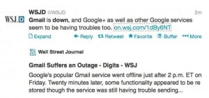 gmail-down-wsj