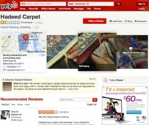hadeed carpet yelp
