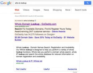 whois lookup