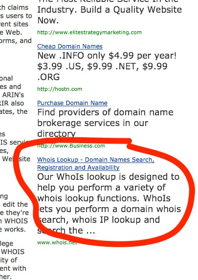 whois net adwords ad