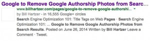 Google to Remove Google Authorship Photos