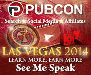Use Code: rc-4320620 for 20% off Pubcon Las Vegas!