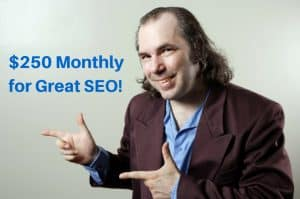 $250 a month for SEO