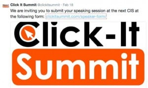 click it summit call for speakers