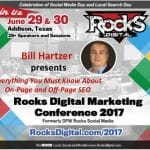 On-Page and Off-Page SEO at Rocks Digital 2017