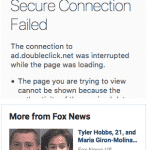 FoxNews.com Not HTTPs: Losing Out on Lots of Ad Revenue
