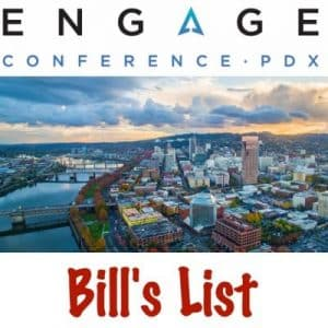 Bill's List SEMPDX Engage Conference