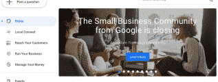 The Small Business Community from Google is closing Julie The Small Business Community from Google is closing