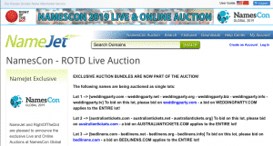 NamesCon - ROTD Live Auction