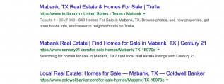 mabank real estate - google